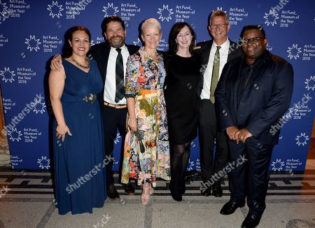 Editorial picture of Art Fund Museum of the Year 2018 announcement, Victoria and Albert Museum, London, UK - 05 Jul 2018