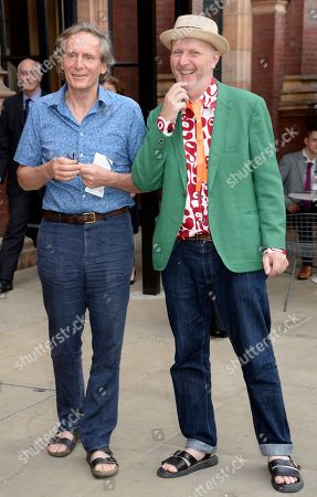 Bob and Roberta Smith (R) with guest