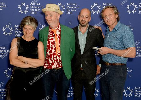 Bob and Roberta Smith (Second Left) with guests