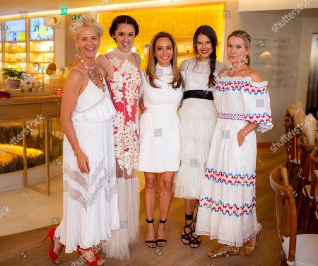 Editorial photo of L'Occitane en Provence and Flowerbx dinner, L'Occitane Flagship Store, London, UK - 05 Jul 2018