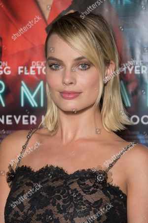 Stock Picture of Margot Robbie poses for photographers upon arrival at the UK premiere of Terminal in central London