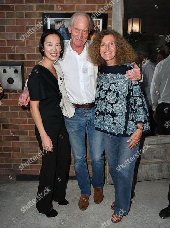 Rosey Chan, Charles Dance, Nicole Farhi
