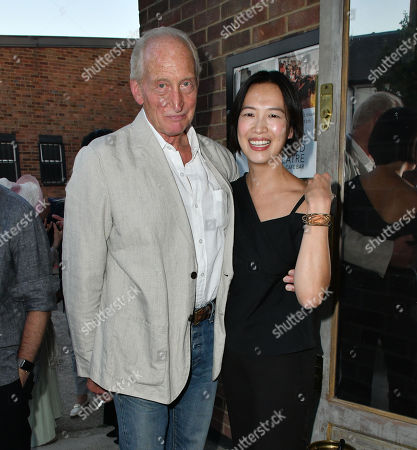 Stock Image of Charles Dance, Rosey Chan