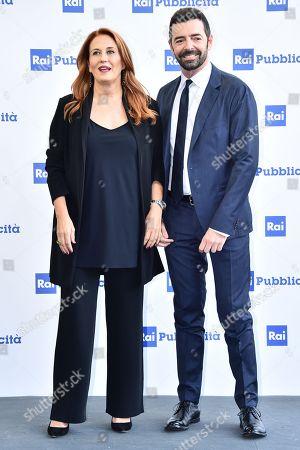 Monica Maggioni and Alberto Matano