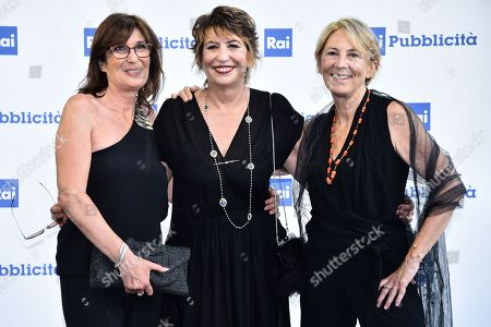 Serena Dandini Valentina Amurri and Linda Brunetta