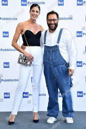 Daniela Ferolla and Giuseppe Calabrese