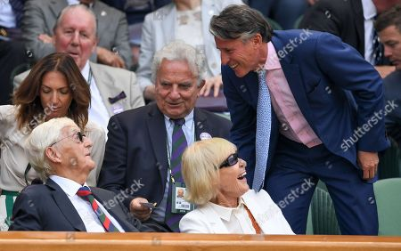 Editorial picture of Wimbledon Tennis Championships, Day 5, The All England Lawn Tennis and Croquet Club, London, UK - 06 Jul 2018