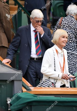 Sir Michael Parkinson and Mary Parkinson in the Royal Box