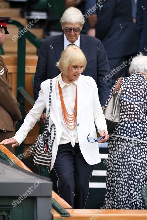 Stock Photo of Sir Michael Parkinson and Mary Parkinson in the Royal Box