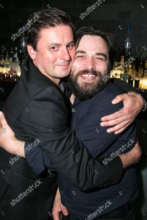 Stock Photo of Dominic Rowan (Derek) and Ammar Haj Ahmad (Safi)