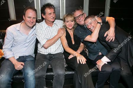 Justin Martin (Director), David Lan (Producer), Sonia Friedman (Producer), Stephen Daldry (Director) and Tom Kirdahy (Producer)
