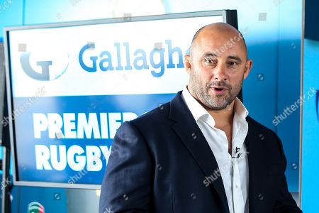 David Flatman speaks at the launch of the 2018/19 Gallagher Premiership Rugby Season Fixtures
