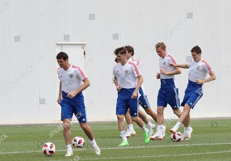 Editorial image of Russia training, Sochi, Russian Federation - 06 Jul 2018