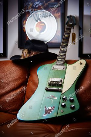 A Vintage 1965 Gibson Firebird V Electric Guitar With A Custom Inverness Green Finish