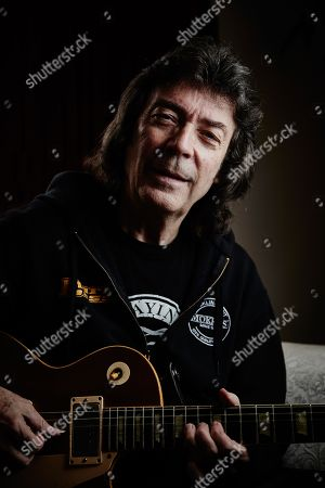 Teddington United Kingdom - March 9: Portrait Of English Progressive Rock Musician Steve Hackett Best Known As A Solo Artist And Former Member Of Genesis Photographed In Teddington England On March 9
