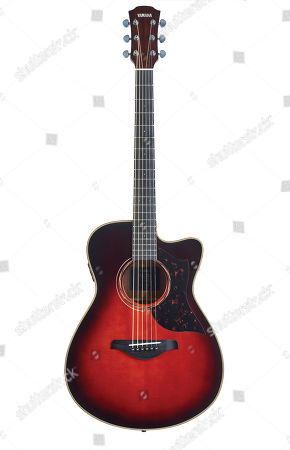 A Yamaha A3r Are Electro-acoustic Guitar