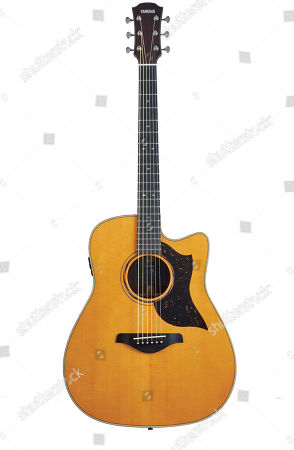 Stock Picture of A Yamaha A5r Are Electro-acoustic Guitar