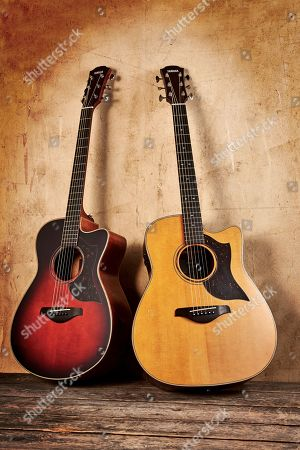 A Yamaha A3r Are Electro-acoustic Guitar (L) And A Yamaha A5r Are Electro-acoustic Guitar