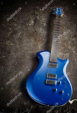 Stock Photo of A Relish Aluminium Mary Electric Guitar