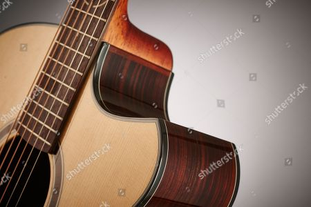 Detail Of A Andrew White Freja 112 Electro-acoustic Guitar