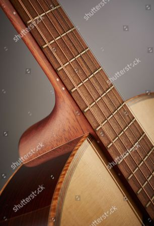 Detail Of An Andrew White Cybele 1010 Electro-acoustic Guitar