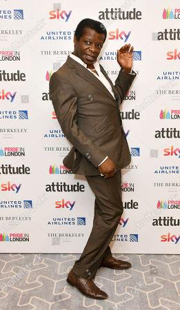 Editorial photo of Attitude Pride Awards, London, UK - 06 Jul 2018