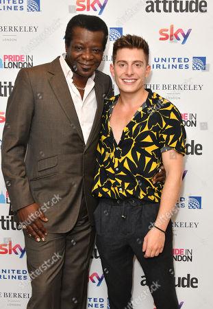 Editorial picture of Attitude Pride Awards, London, UK - 06 Jul 2018