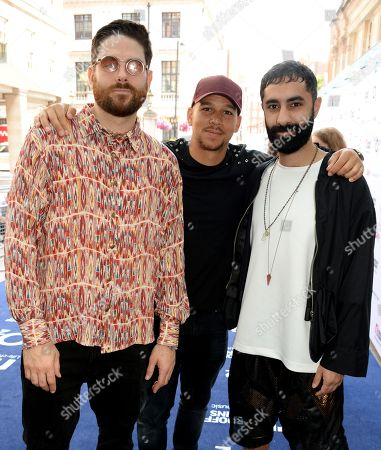Piers Agget, Kesi Dryden and Amir Amor of Rudimental