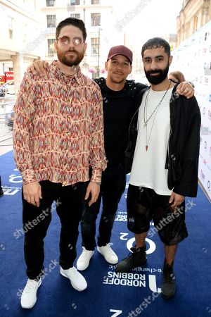 Stock Photo of Piers Agget, Kesi Dryden and Amir Amor of Rudimental