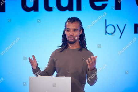 Akala discusses 'Is Britain having an identity crisis?' at Futurefest, Tobacco Dock, London.