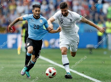 Editorial photo of Russia Soccer WCup Uruguay France, Nizhny Novgorod, Russian Federation - 06 Jul 2018