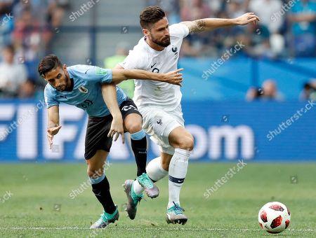 Editorial image of Russia Soccer WCup Uruguay France, Nizhny Novgorod, Russian Federation - 06 Jul 2018