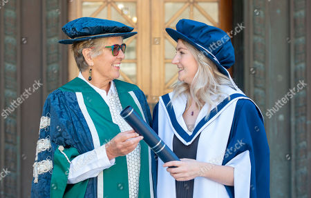 Alice Thompson and Prue Leith
