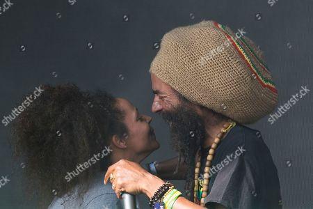 Nanci Correia and Congo Natty - Michael Alec Anthony West (AKA Conquering Lion, Congo Natty, Blackstar, Tribe of Issachar, X Project, Ras Project)