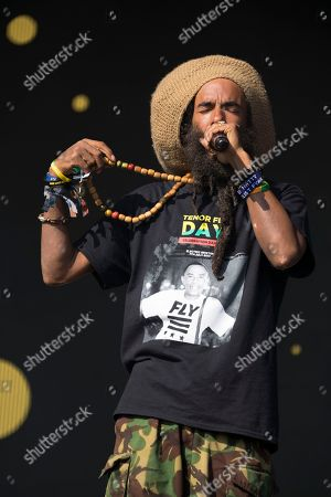 Congo Natty - Michael Alec Anthony West (AKA Conquering Lion, Congo Natty, Blackstar, Tribe of Issachar, X Project, Ras Project)