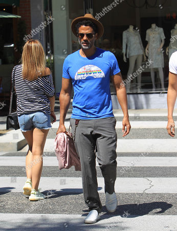 Editorial picture of Eric Benet out and about, Los Angeles, USA - 05 Jul 2018