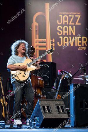 Editorial photo of Pat Metheny in concert, San Javier, Spain - 06 Jul 2018