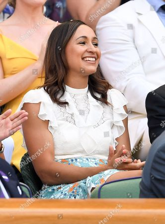 Jessica Ennis in the Royal Box