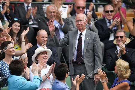 Bobby Charlton in the Royal Box