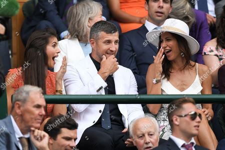 Stock Photo of Carl Froch and Rachael Cordingley in the Royal Box