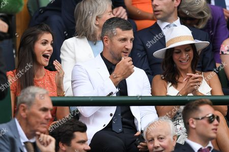 Carl Froch and Rachael Cordingley in the Royal Box