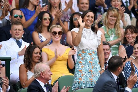 Editorial picture of Wimbledon Tennis Championships, Day 6, The All England Lawn Tennis and Croquet Club, London, UK - 07 Jul 2018