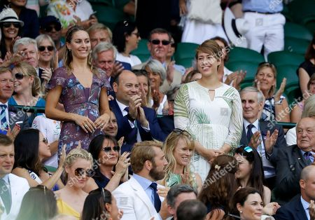 Editorial image of Britain Wimbledon Tennis, London, United Kingdom - 07 Jul 2018