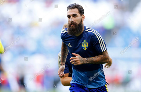Editorial photo of Russia Soccer WCup Sweden England, Samara, Russian Federation - 07 Jul 2018