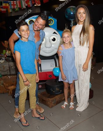 Junior Andre, Peter Andre (Voice of Ace), Princess & Emily MacDonagh