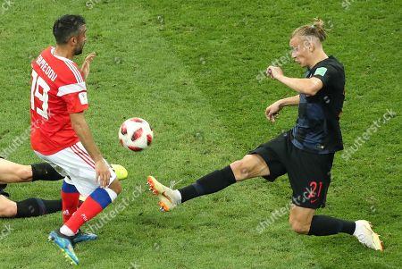 Editorial photo of Quarter Final Russia vs Croatia, Sochi, Russian Federation - 07 Jul 2018