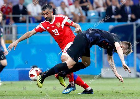 Editorial picture of Quarter Final Russia vs Croatia, Sochi, Russian Federation - 07 Jul 2018