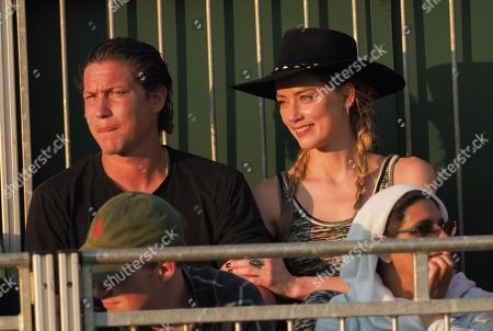 Stock Photo of Amber Heard, Vito Schnabel
