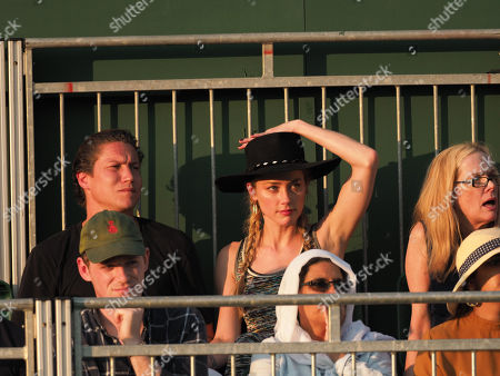 Stock Image of Amber Heard, Vito Schnabel