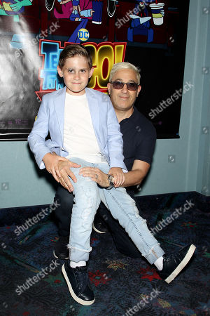 Jason Weinberg with son